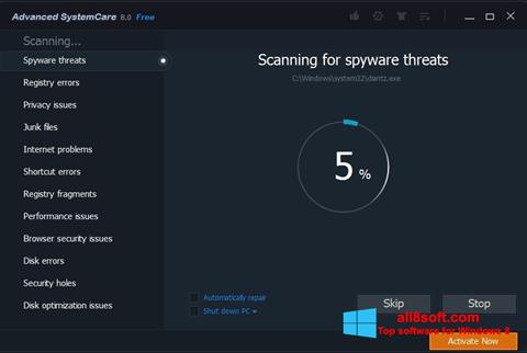 Screenshot Advanced SystemCare Pro Windows 8