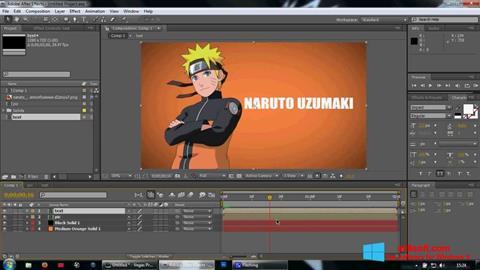Screenshot Adobe After Effects Windows 8