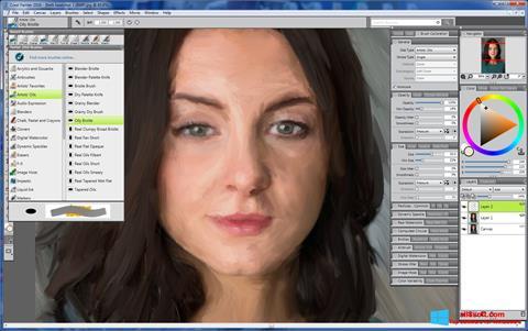 Screenshot Corel Painter Windows 8