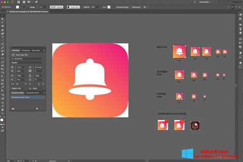 Screenshot Adobe Illustrator CC Windows 8