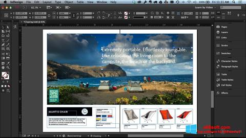 Screenshot Adobe InDesign Windows 8