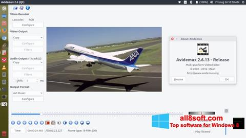 Screenshot Avidemux Windows 8
