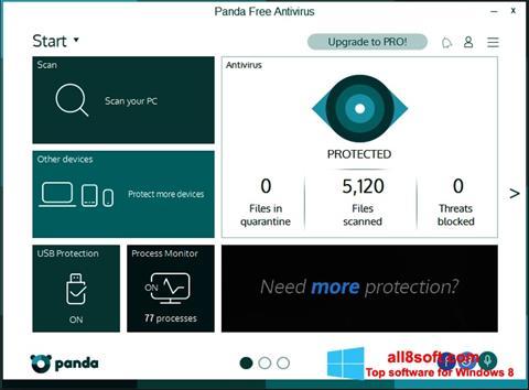 Screenshot Panda Windows 8
