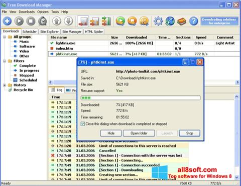 Screenshot Download Master Windows 8